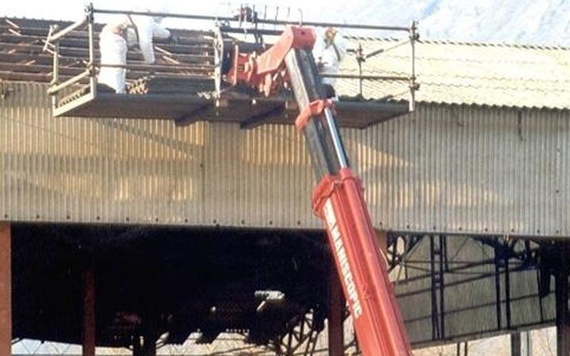 smantellamento tetto