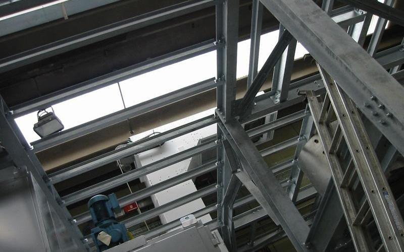 struttura metallica