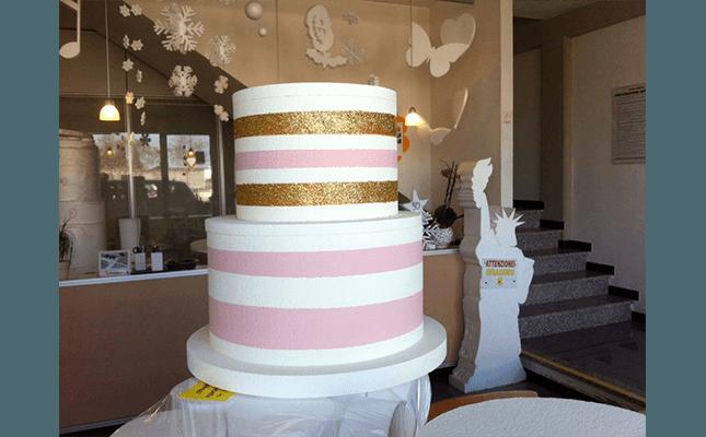 polistirolo per cake design