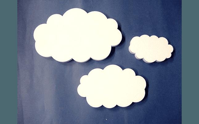 nuvole in polistirolo