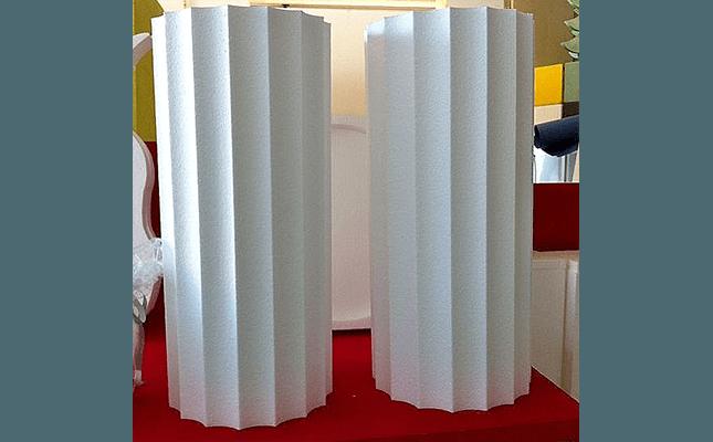 colonne romane in polistirolo