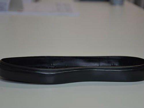 Fondo di scarpa nero lucido