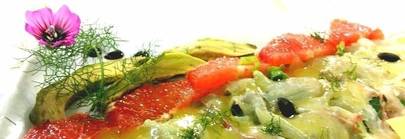 filletto di pesce con contorno di verdure