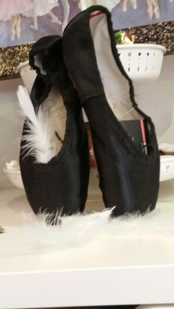 scarpette balletto nere