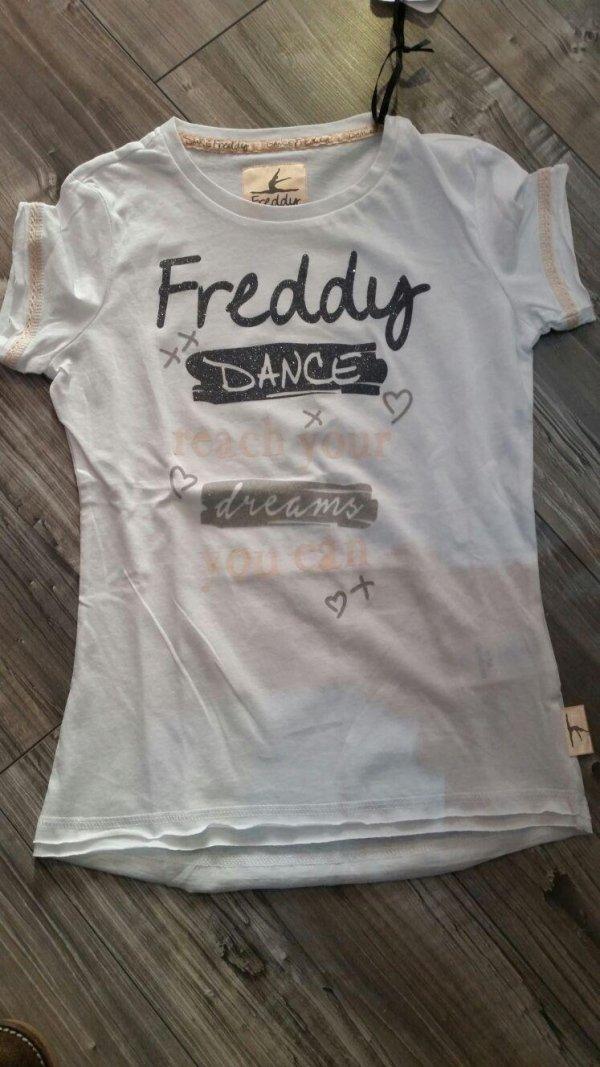 maglietta bianca freddy