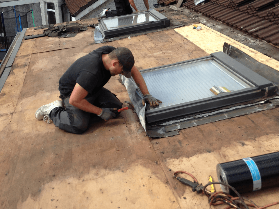 roof window fitting