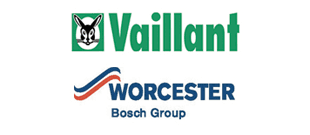 Central heating - Keighley, West Yorkshire - Premier Gas Services Ltd - Vaillant and Worcester Bosch logo