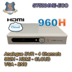 DVR 4 Canali Analogico 960H HDMI CLOUD - SETIK