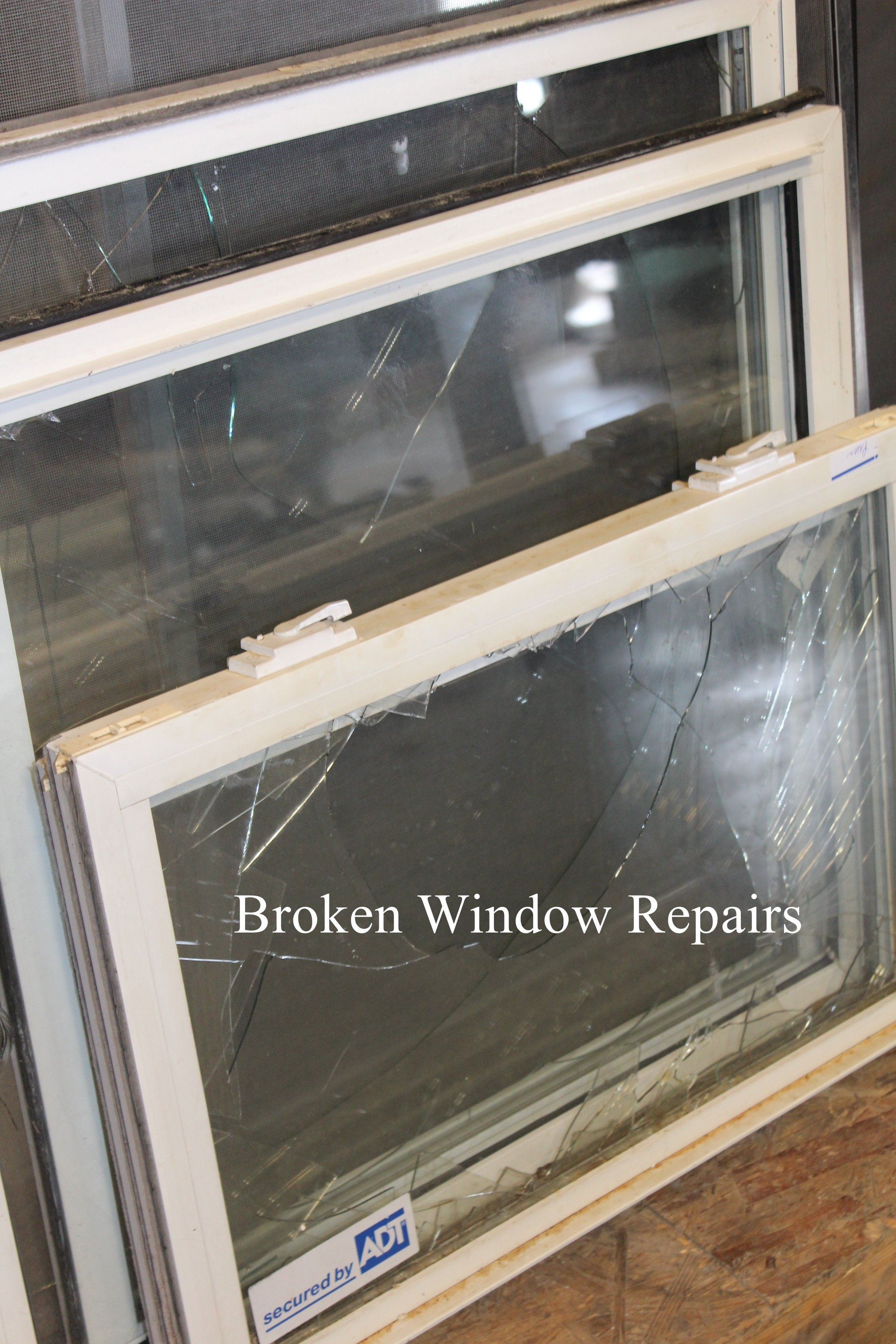 Broken Window Repairs