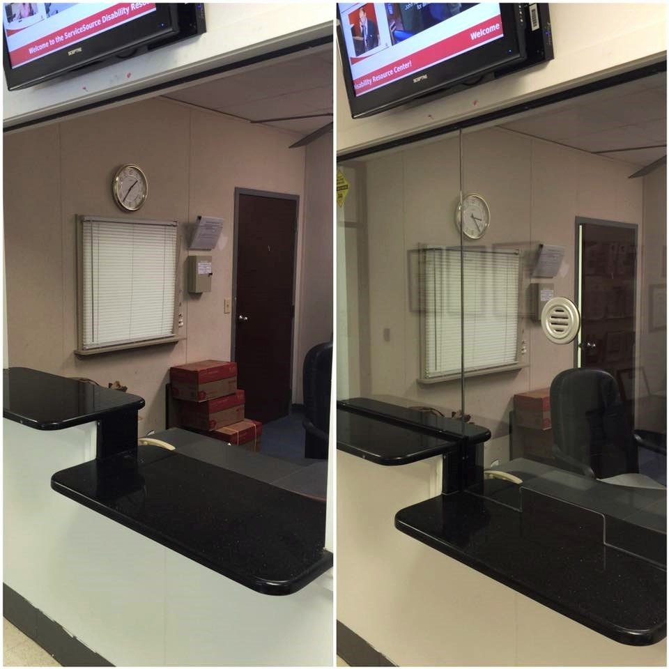 Before and After Commercial Glass