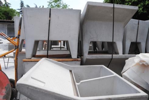 manufatti prefabbricati in calcestruzzo