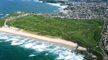 Newquay golf course
