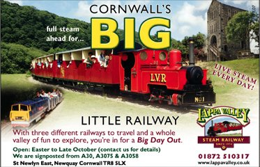 little railway advertisement