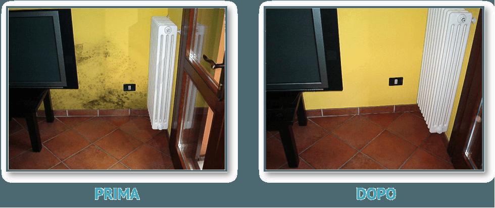 soluzioni contro l'umidità di risalita