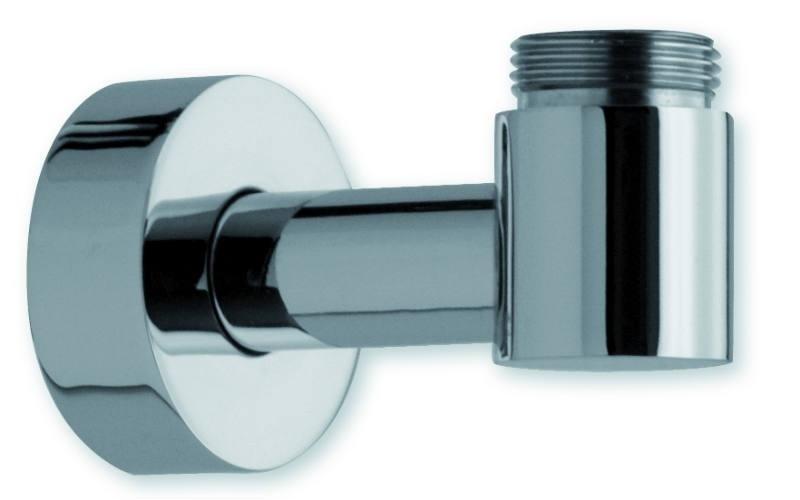 Supporto inferiore in ottone con presa acqua