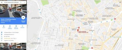 SEDE SANDOMENICO STUDIO RADIOLOGIA MEDICA
