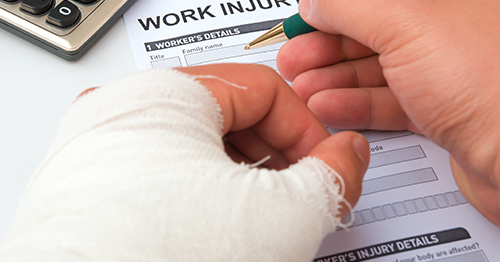 Filing for Worker's Compensation with John V. Martine, Attorney at Law
