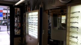 L'interno dell'ottica