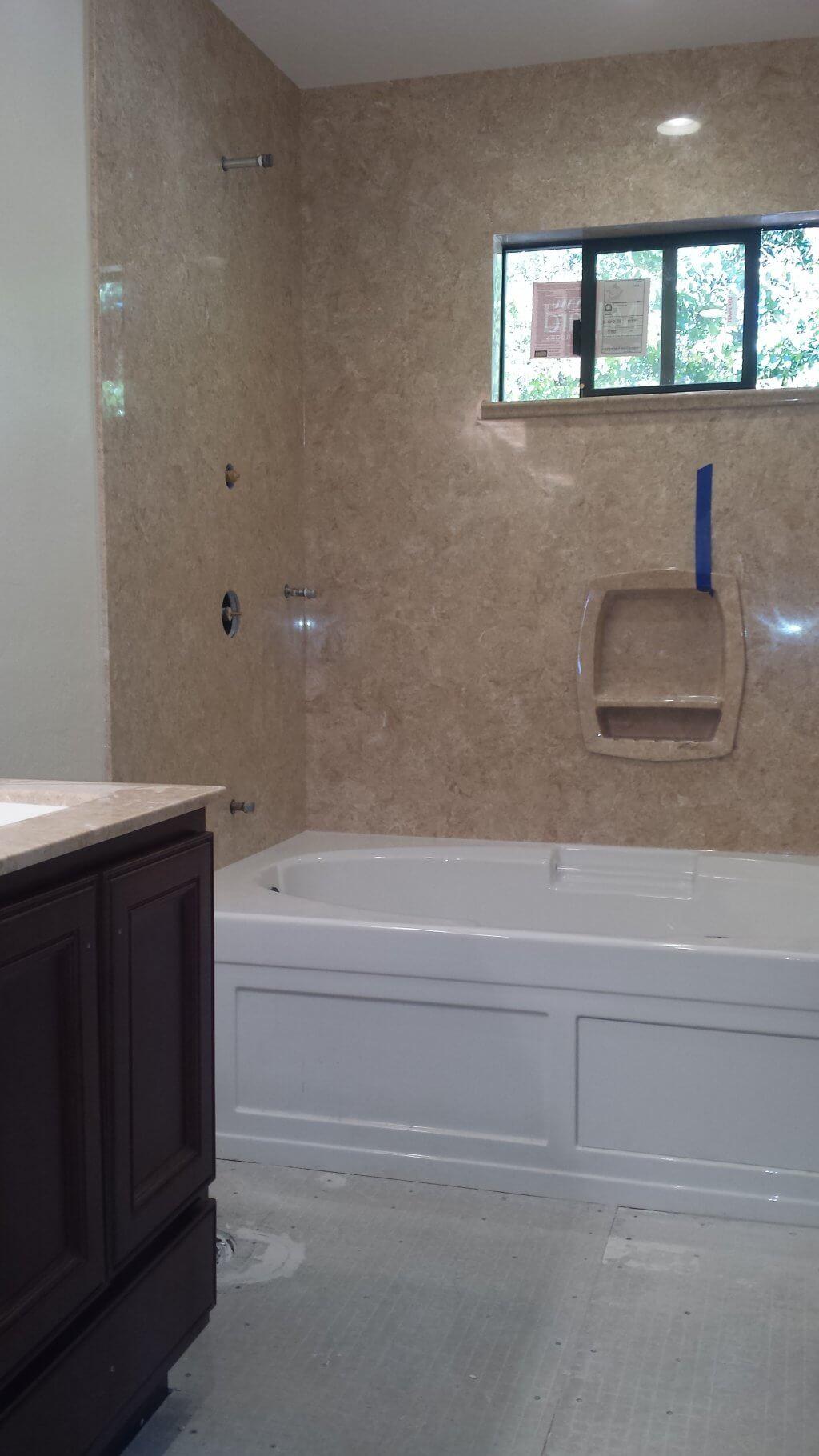 marble bathroom countertop Marin County, CA