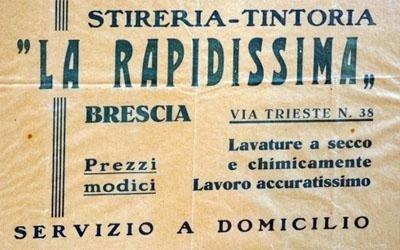 Stireria e Tintoria Zucchi a Brescia