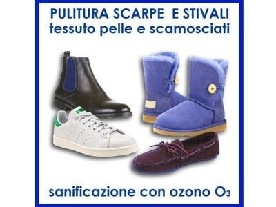 Pulizia scarpe e stivali