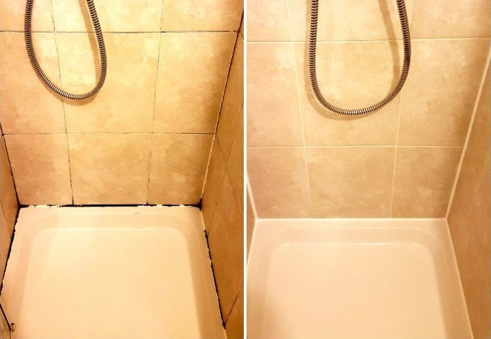 Ceramic Tile Shower Cubicle Tile And Grout Cleaning Amp Sealing