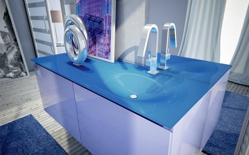 bagno lilla lucido