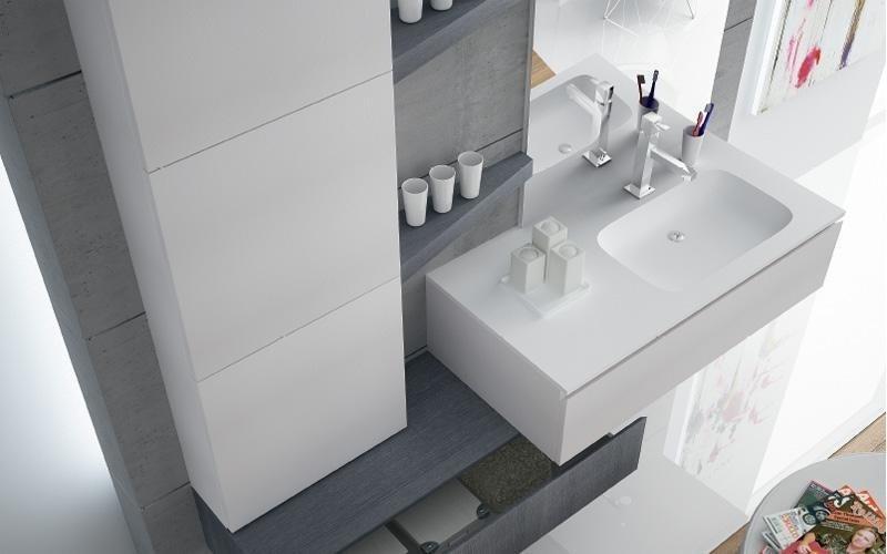 bagno bianco opaco