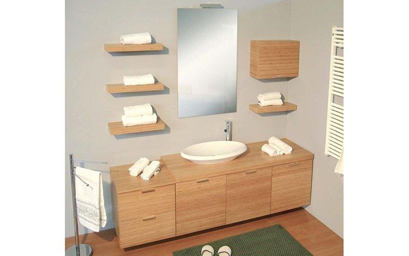 mobiletti bagno in ciliegio