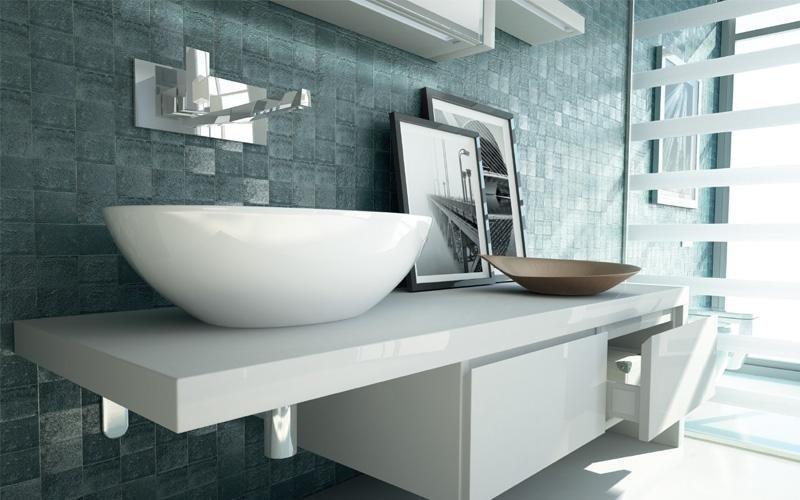 lavabo total white