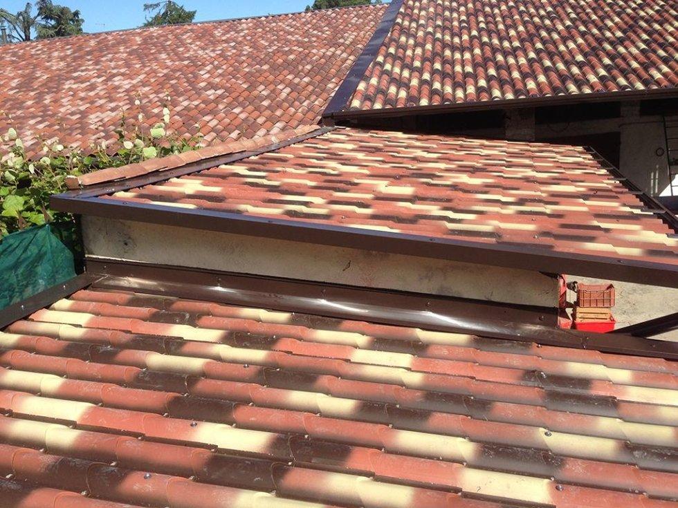 coperture tetti in lamiera verniciata
