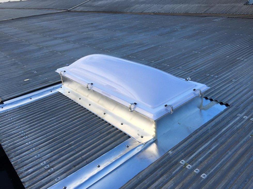 coperture tetti in acciaio