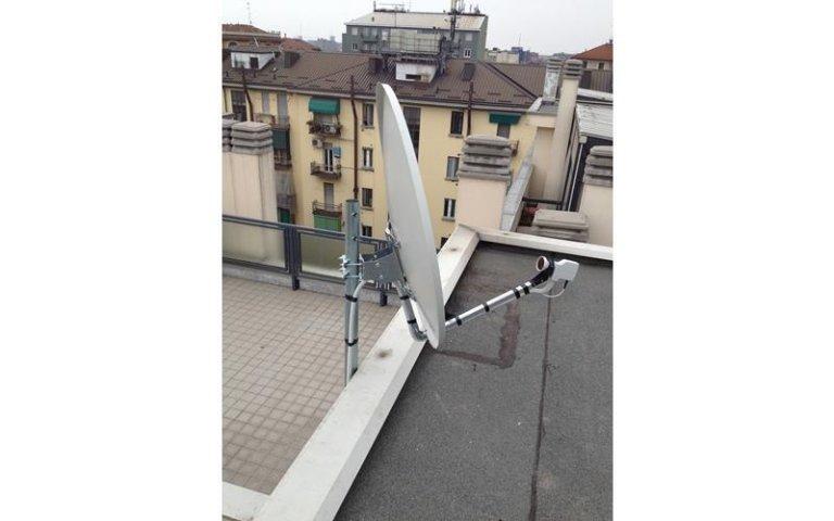 Manutenzione impianti satellitari Volasat
