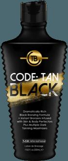 Code: Tan Black Indoor Tanning Lotion