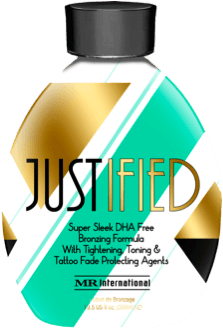 Justified Indoor Tanning Lotion