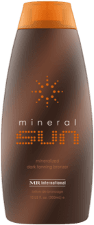 Mineral Sun Bronzer Indoor Tanning Lotion