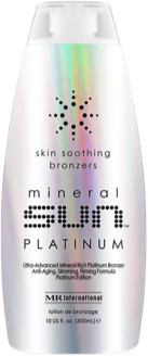 Mineral Sun Platinum Indoor Tanning Lotion