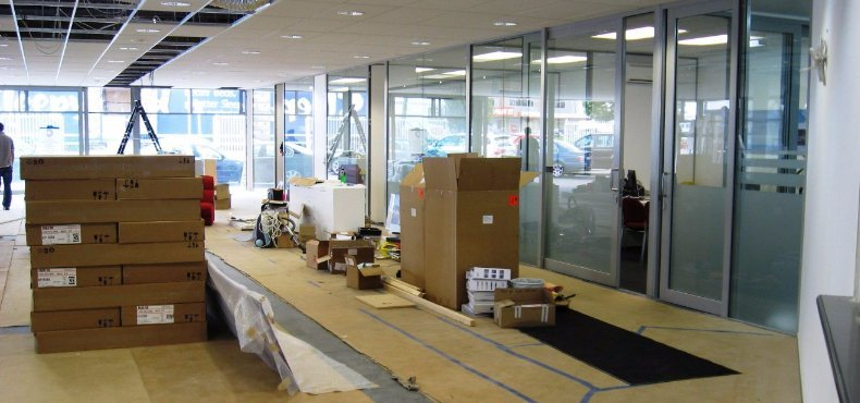 commercial fit outs in Auckland