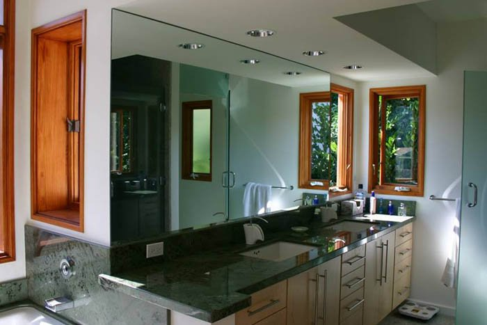 Image of residential glass mirror