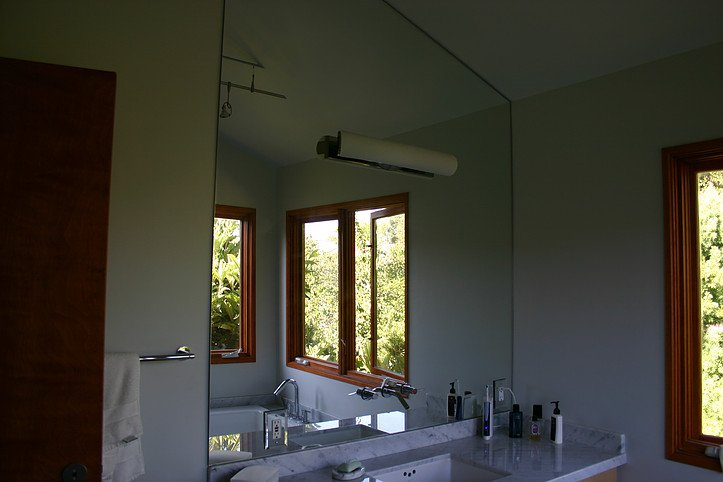 image of bathroom mirror