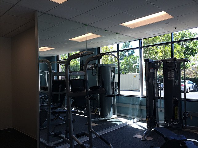 glass mirrors for gym