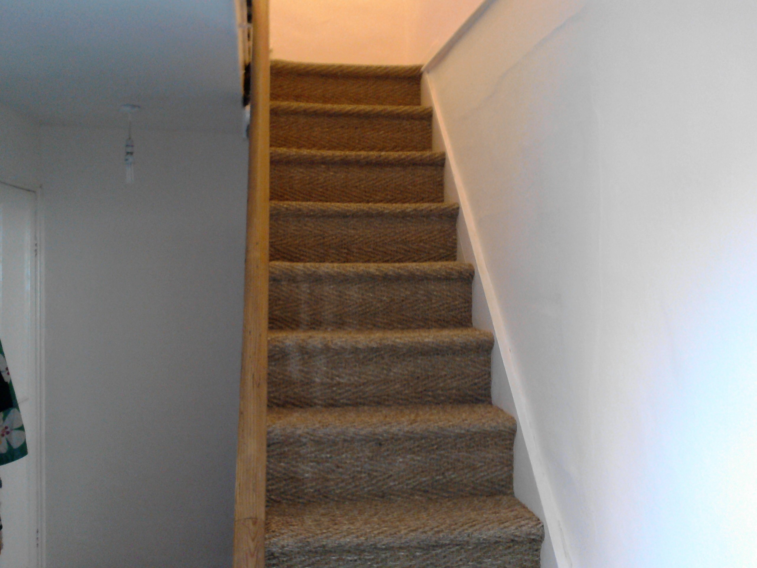 natural staircase floor covering