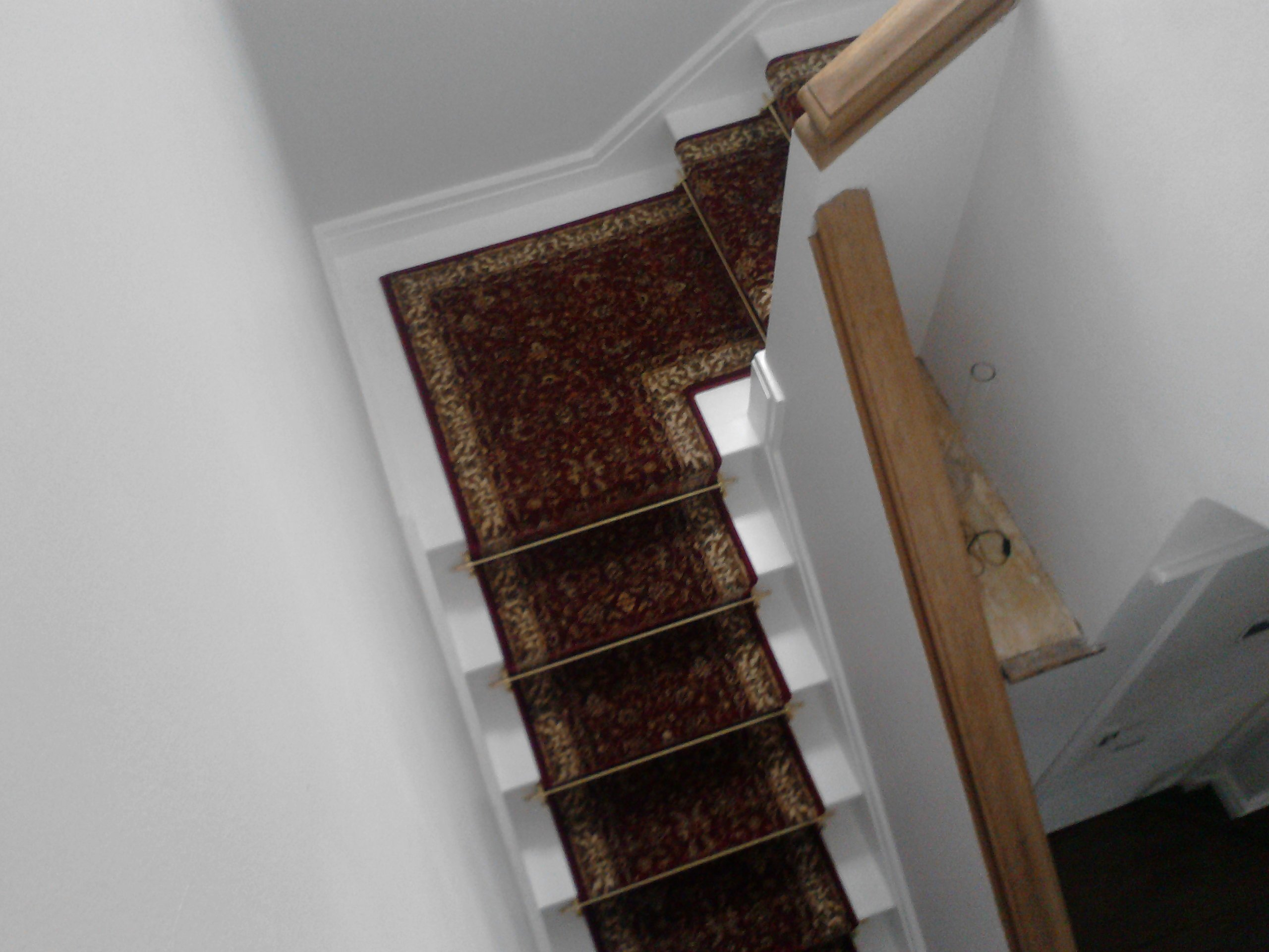 carpet on staircase