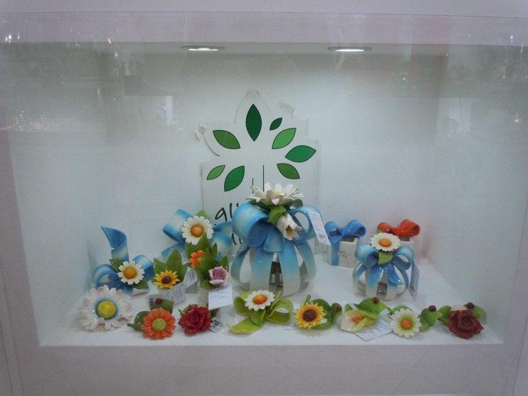 oggettistica a forma di fiore