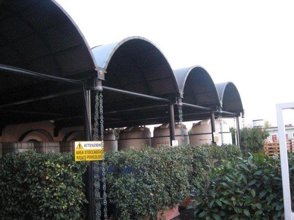 costruzione tettoie