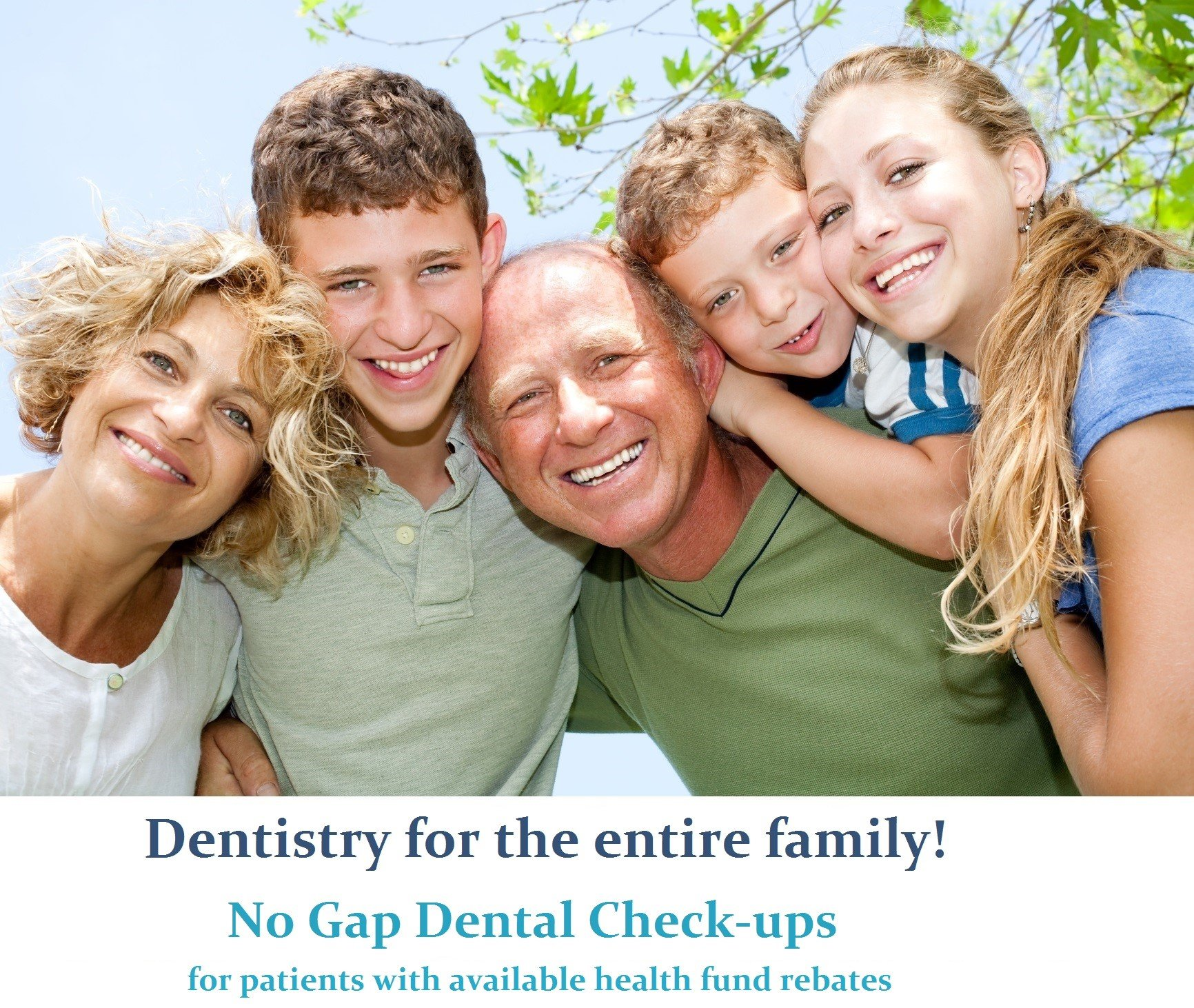 happy smiling family