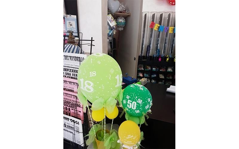 Palloncini per compleanni
