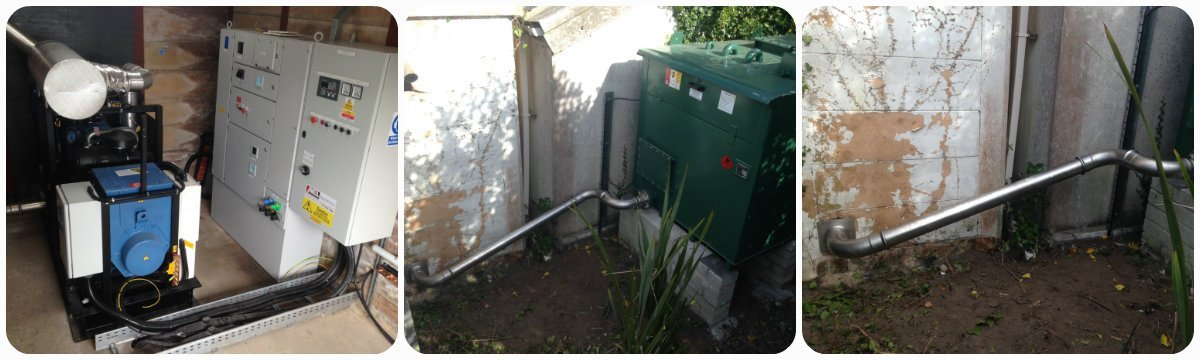 Load banks and generators