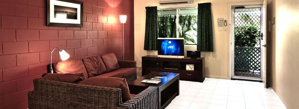 2 Bedroom Deluxe Villa - Living Room
