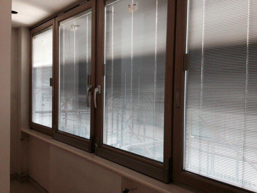 finestre in alluminio-legno ed in legno-alluminio realizzate da A.D.P. Infissi srl